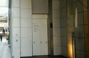 ヒューマントラスト有楽町エレベーター